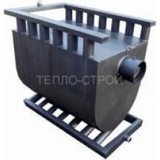 Печь-булерьян с водяным контуром (отопительно-варочный) на 1400 м3