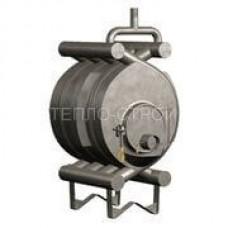 Печь-булерьян с водяным контуром (отопительно-варочный) на 100 м3