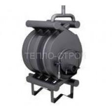 Печь-булерьян с водяным контуром (отопительно-варочный) на 200 м3