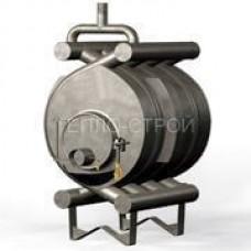 Печь-булерьян с водяным контуром (отопительно-варочный) на 600 м3