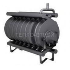 Печь-булерьян с водяным контуром (отопительно-варочный) на 1000 м3