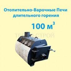 """Отопительно-варочная печь  """"Эконом 3 в 1"""" - 100 м3"""